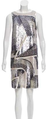 Emilio Pucci Sequined Shift Dress
