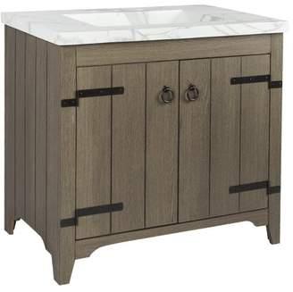 """SIA Millwood Pines 36"""" Single Bathroom Vanity Set Base"""