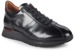 Bruno Magli Leather Platform Sneakers