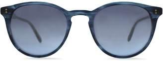 Garrett Leight Men's Surfers Healing Hampton Round Sunglasses, 48mm