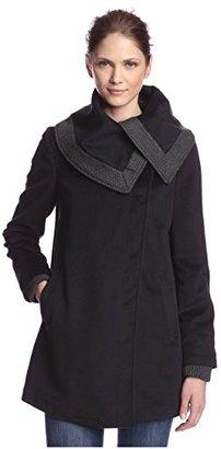 Rachel Rachel Roy Women's Draped Collar Coat $49.47 thestylecure.com