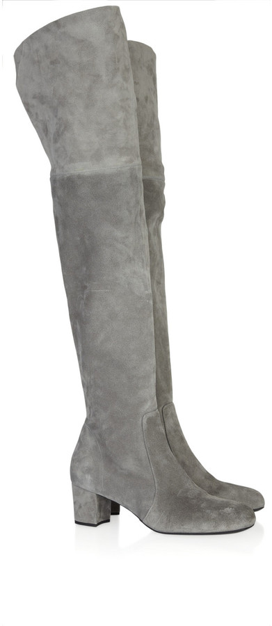 Michael Kors Suede over-the-knee boots