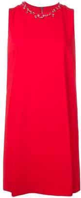 Moschino piercing neckline mini dress