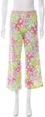 Emilio Pucci Casual Cropped Pants