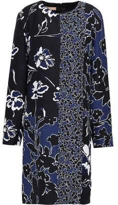 Michael Kors Floral-print Crepe Dress