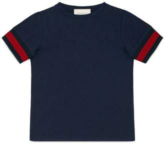 Gucci Children's cotton T-shirt with Web
