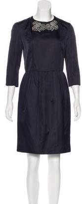 Jason Wu Embellished Knee-Length Dress w/ Tags