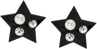 Miu Miu crystal embellished star earrings