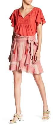 Banjara Faux Wrap Cross Front Skirt