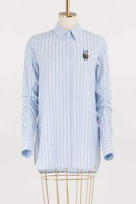 Carven Cotton striped shirt