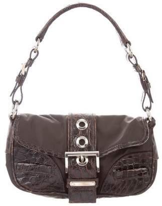 51ac28b8763f Prada Crocodile Handbags - ShopStyle