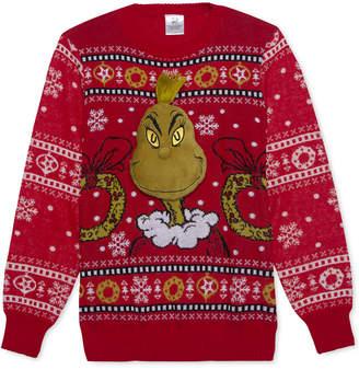 Hybrid Dr. Seuss Grinch Men's Holiday Sweater