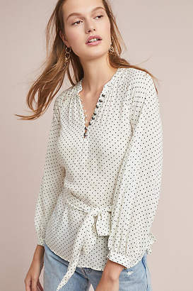Maeve Lucy Polka Dot Blouse