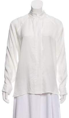 Smythe Oversized White Blouse