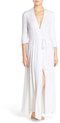 Barefoot Dreams Luxe Long Jersey Robe