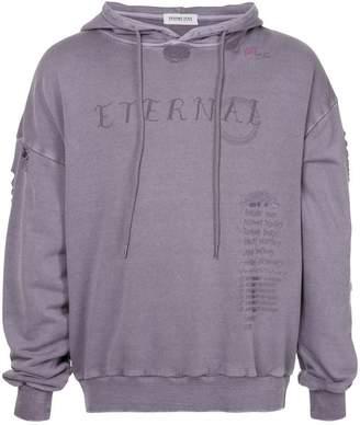 Ground Zero Eternal distressed hoodie