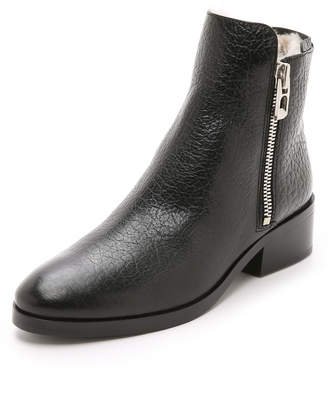 3.1 Phillip Lim Alexa Shearling Boots $695 thestylecure.com