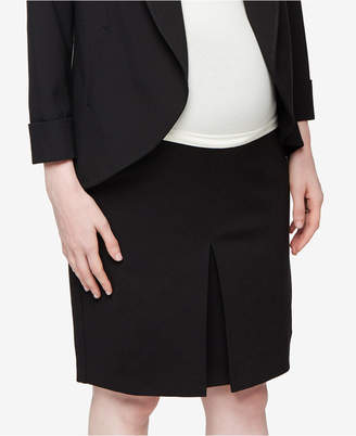 A Pea In The Pod Maternity Pencil Skirt $68 thestylecure.com