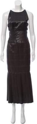 Chanel Silk Maxi Dress w/ Tags
