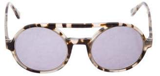 Derek Lam Morton Round Sunglasses