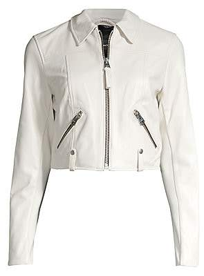 Mackage Women's Bessie Cropped Leather Jacket
