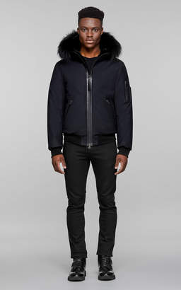Mackage FULTON-X hooded winter bomber with fur