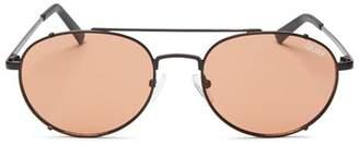 Quay Women's Little J Aviator Sunglasses, 45mm