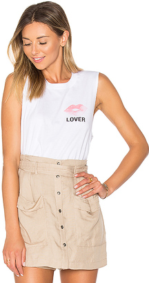 A Fine Line Lover Abby Tank in White $66 thestylecure.com
