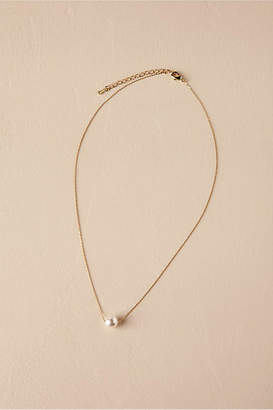 Anthropologie Serra Pearl Necklace