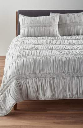 Nordstrom Heathered Ruched Comforter