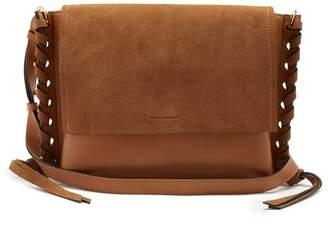 Asli suede and leather cross-body bag Isabel Marant KsNP5wkG