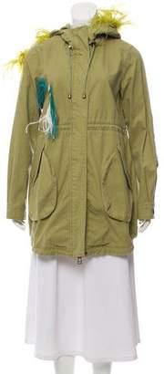 Sylvie Alessandra Chamonix Boa Jacket w/ Tags