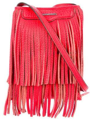 Rebecca Minkoff Fringe Leather Crossover Bag