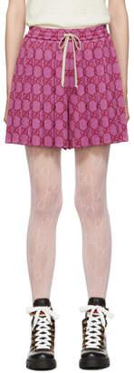 Gucci Pink GG Shorts