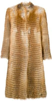 Liska long fur coat