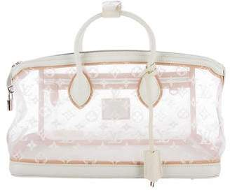 Louis Vuitton Transparent Lockit East West Bag