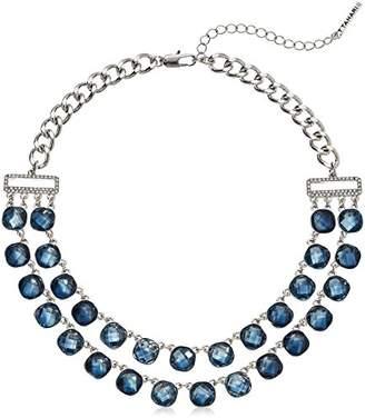 T Tahari Uptown Jewels Women's Btir Stmnt Acr Gl Stne Necklace
