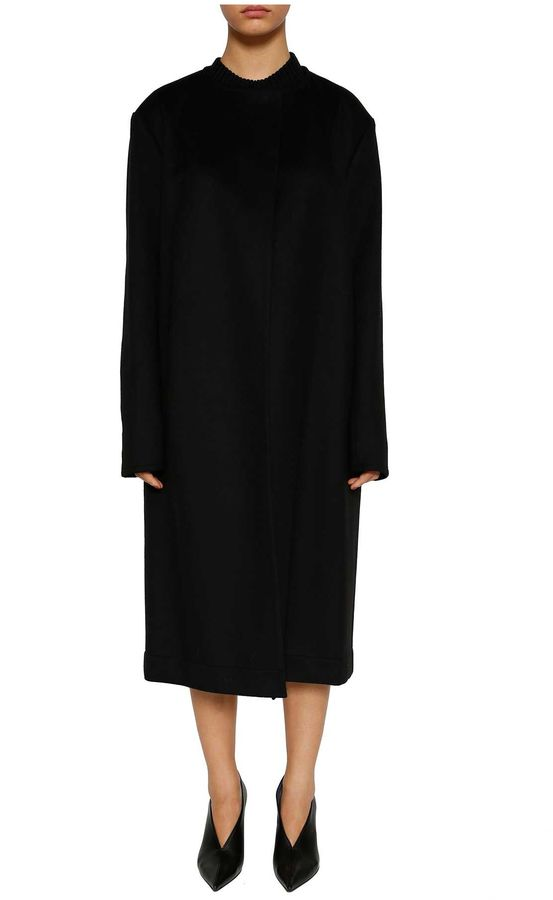 CelineCeline Wool And Cashmere Coat