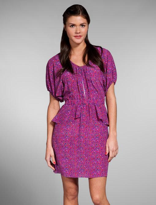 Rebecca Taylor Mini Tulip Shirt Dress