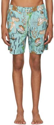 Loewe Blue Paulas Ibiza Edition Mermaid Swim Shorts