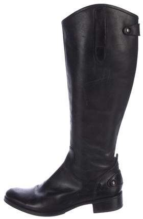 Vera Wang Lavender Label Leather Riding Boots