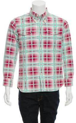 Visvim Plaid Button-Up Shirt