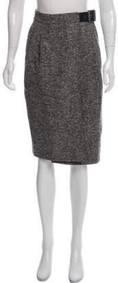 Belstaff Virgin Wool Tweed Skirt w/ Tags