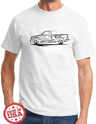 Redline Maddmax Car Art 1999-04 Ford SVT Lightning F150 Pickup Truck Series Outline Design Tshirt