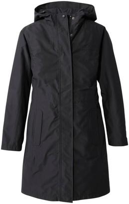 L.L. Bean L.L.Bean Women's H2OFF Raincoat, PrimaLoft-Lined