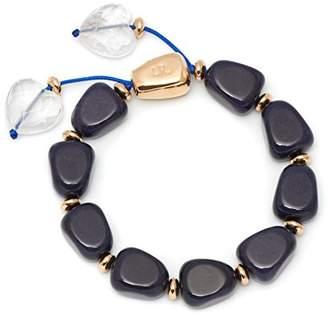 Lola Rose Robin French Navy Quartz Bracelet of Length 20-26cm