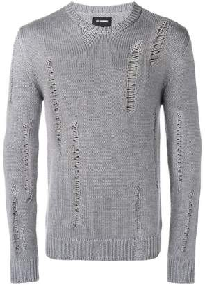 Les Hommes distressed sweater
