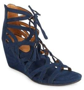 Kenneth Cole REACTION Cake Pop Caged Wedges $79 thestylecure.com