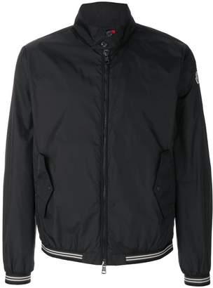 Moncler band collar bomber jacket
