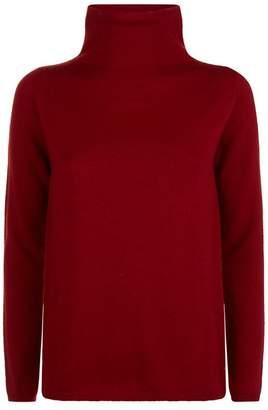 Max Mara Cashmere-Silk Turtleneck Sweater